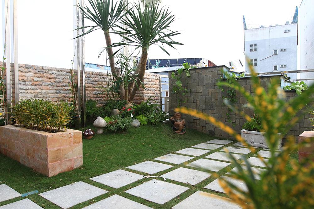 Thiết kế sân vườn nhà