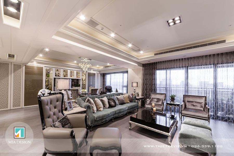 Cập nhật những mẫu thiết kế nội thất hot nhất theo phong cách Châu Âu 2019