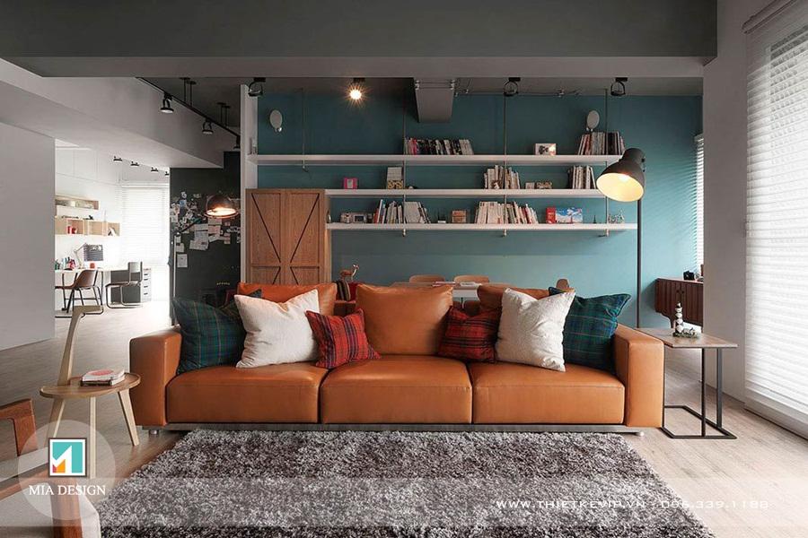 Gợi ý thiết kế nội thất thông minh cho phòng khách có không gian nhỏ hẹp